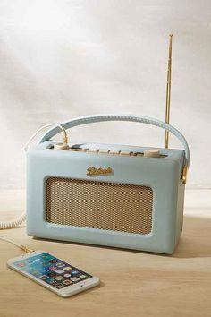 Roberts Radio Revival Radio - in black, for Ben's room