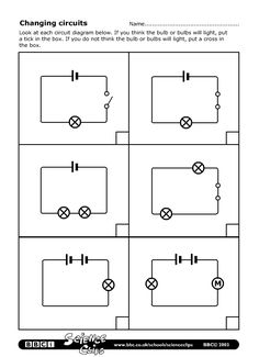 Printables Circuit Worksheet circuit symbols worksheet science printable worksheets bbc schools clips changing circuits worksheet