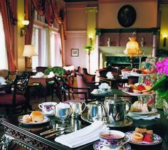 Check... High Tea at the Fairmont Empress Hotel in Victoria