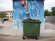 Du streetart qui interagit avec son environnement par Sath 2Tout2Rien