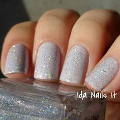 Darling Diva Polish The One That You Love Layered over A England Cathy
