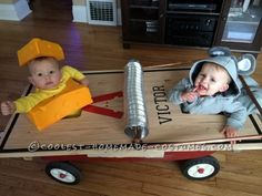 To get started on the mouse trap costume base, you will need a wagon. We used our Radio Flyer Pathfinder wagon. We are doing a lot of home renovations...