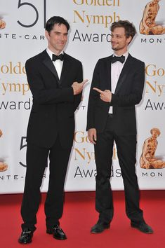 Matthew Gray Gubler and Thomas Gibson - 51st Monte Carlo TV Festival -'Closing Ceremony'