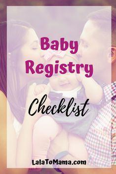 Checklist of newborns registry for new mothers: LalaToMama – Cute Baby Humor Baby Registry Checklist, Baby Safe, Baby Essentials, Parenting Advice, Mom Advice, Baby Month By Month, Funny Babies, New Moms, Breastfeeding