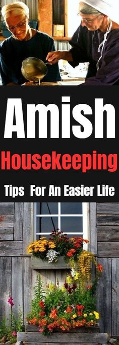 Amish Housekeeping Tips For An Easier Life #amish #homehacks #home #lifestyle