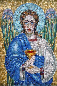 Mosaic Angel - West Norwood Cemetery, London | by johnmartine63