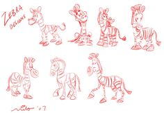 A collection of character design and art I've done over the years for various clients and for development projects. Baby Giraffes, Baby Zebra, 3d Drawings, Cartoon Drawings, Zebra Drawing, Watercolor Sketchbook, Zoo Animals, Zebras, Character Illustration