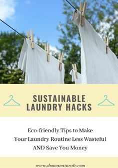 With nine kids, laundry is a MAJOR chore at our house. So when we began our journey to a less wasteful and less toxic lifestyle, our laundry routine was at the top of the list to change. With a little… More