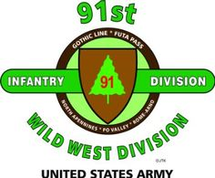 """Amazon.com: 91ST INFANTRY DIVISION """"WILD WEST DIVISION"""" """" U.S. MILITARY CAMPAIGNS LAMINATED PRINT ON 18"""" x 24"""" QUARTER INCH THICK POSTER BOARD: Everything Else"""