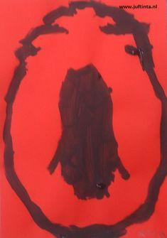 Silhouet Sinterklaas en Zwarte Piet