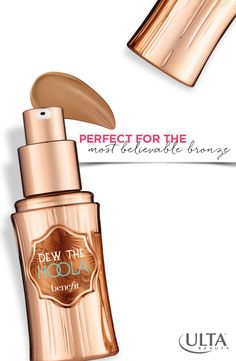 Get Benefit's new matte liquid bronzer to add a touch of summer to your skin, available at Ulta Beauty.