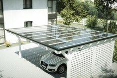 Images – Guarantee conditions Premium solar glass - All For Garden Solar Carport, Carport Garage, Solar Energy System, Solar Power, Portal Do Sol, Car Shed, Solar Roof Tiles, Carport Designs, Household Cleaning Tips
