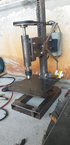 Metal Bending Tools, Metal Working Tools, Metal Tools, Work Tools, Diy Lathe, Diy Welding, Welding Tools, Homemade Tools, Diy Tools