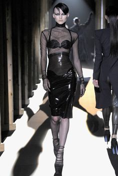 I love Mugler's update to the look that was so popular in the 90's!