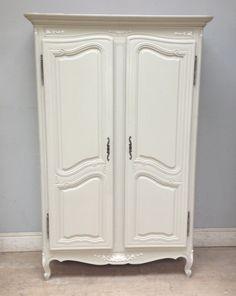 vintage french louis xv style armoire