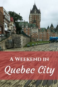 Is there another place like Quebec City in Canada (or North America for that matter)? I don't think so. Without crossing the Atlantic, one feels as if you landed in Europe. With its cobblestone streets, fortifications, and French speaking citizens, Quebec City welcomes visitors with ease and charm. Ever since seeing photos of the city, I always said that the first place I want to visit when I get to Canada was this city. Finally, I was going to spend a weekend in Quebec City. Arriving at…