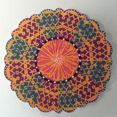 The Common Denominator: Making Mandalas with Stencils