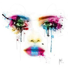 one-and-only-one Arte Pop, Murciano Art, Patrice Murciano, Pop Art, Tattoo Foto, Abstract Faces, Colorful Paintings, Acrylic Paintings, Painting Abstract