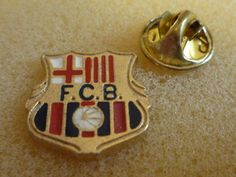 FC Barcelona Fußball Pin - football badge - Barça fútbol insignia ( 1 )