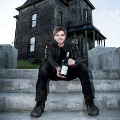 Bates Motel Actor Max Thieriot's Wine-Centric Halloween Dinner | Food & Wine