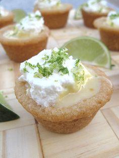 Key Lime Sugar Cookie Cups
