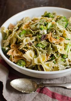 Broccoli and Feta Pasta Salad