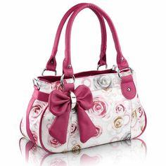 ec08ccea12 New Arrival Fashion Sweet Flower Bowknot Female Handle Bag hello iasmina  akarsz