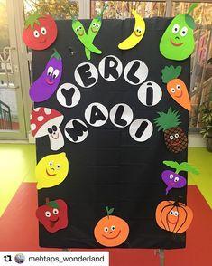 Felt Crafts, Diy And Crafts, Crafts For Kids, Class Decoration, School Decorations, Word Work Activities, Activities For Kids, Vegetable Crafts, Healthy Schools
