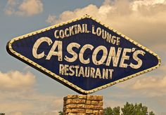 """Cascone's in Kansas City, Mo.  """"Always a Great Meal with the Best of Ingredients!""""."""