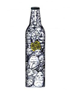 Mountain Dew Green Label art project - artist: Mark Smith