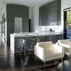 tan grey kitchen cabinet paint color with silver setting and, Hause ideen