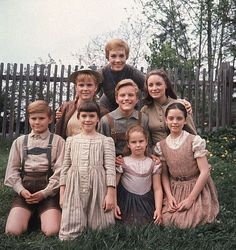 My favourite movie: The Sound of Music. The Von Trap children and Maria