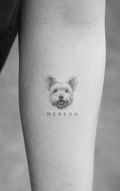 100 Amazing Dog Tattoos to Get Inspired - Top Tattoos - 100 Amazing Dog Tattoos to Get Inspired – Top Tattoos - Tasteful Tattoos, Dainty Tattoos, Leo Tattoos, Friend Tattoos, Great Tattoos, Small Dog Tattoos, Cute Animal Tattoos, Tattoos For Dog Lovers, Mini Tattoos