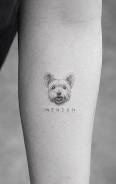 100 Amazing Dog Tattoos to Get Inspired - Top Tattoos - 100 Amazing Dog Tattoos to Get Inspired – Top Tattoos - Small Dog Tattoos, Tattoos For Dog Lovers, Mini Tattoos, Cute Tattoos, Flower Tattoos, Tribal Tattoos, Leo Tattoos, Tatoos, Chihuahua Tattoo