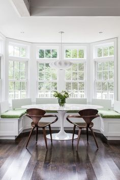 Bay Window Table or Bench Seating???
