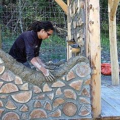 could be good for an inside wall or maybe round a window or even an outside garden wall.