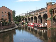 MANCHESTER - Houseboats on the Bridgewater Canal | Flickr: partage de photos!