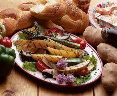 Idaho Potato Commission - Recipes: Heart-Healthy Grilled Idaho® Potato Ratatouille Salad