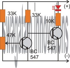 A simple  low battery indicator circuit can be made using just two transistors, let's learn it.