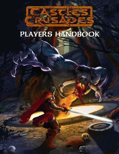 Castles & Crusades Players Handbook -- Standard Cover, $29.99
