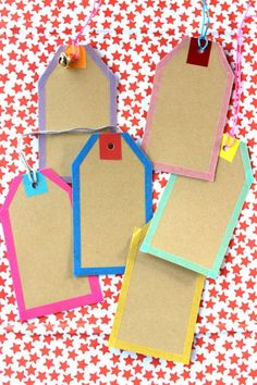 Simple DIY tags