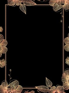 Black Gold Wind Lace Hand In Corporate Annual Meeting Background Material Flower Background Wallpaper, Flower Backgrounds, Black Backgrounds, Background Images, Flower Graphic Design, Wedding Invitation Background, Wedding Logo Design, Emotional Photography, Phone Screen Wallpaper