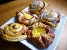 Danish Breakfast Pastries