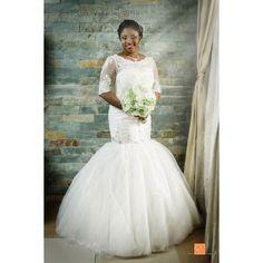 Lovely Pastor Pat on her #wedding day. See more on www.eikonworld.com. #bride #bridalportrait #love #wedding #lagosweddings #lagosweddingphotographer #eikonworld #christembassy #weddingday #wedding #weddingdress