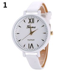>> Click to Buy << New! Women's Roman Numerals Dial Slim Faux Leather Strap Casual Quartz Wrist Watch #Affiliate