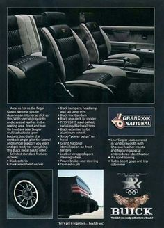 '85 Buick Grand National ad