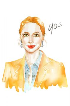 Our Epic Guide To Fab Skin At Every Age illustrated by Samantha Hahn