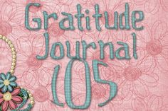 Gratitude Challenge Revisited Day 105 - News - Bubblews