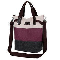 [Original] Women's Casual Canvas Crossbody Bag Messenger