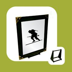 Hero Soldier Engraved Mirror Only Wall Hanger, Adhesive, Symbols, Hero, Letters, Mirror, Gifts, Stuff To Buy, Presents